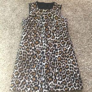 Jcrew leopard dress